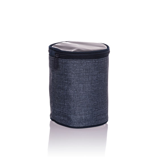 Get Creative Cylinder - Navy Crosshatch