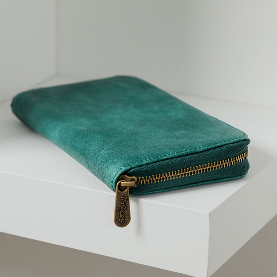 All About the Benjamins - Jade Distressed Pebble