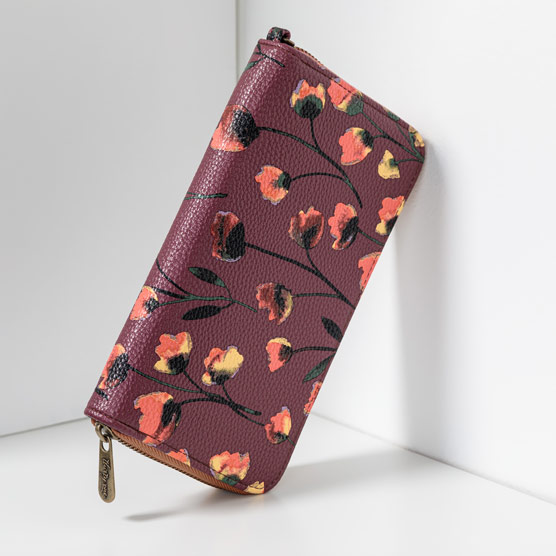 All About the Benjamins - Delicate Floral Pebble