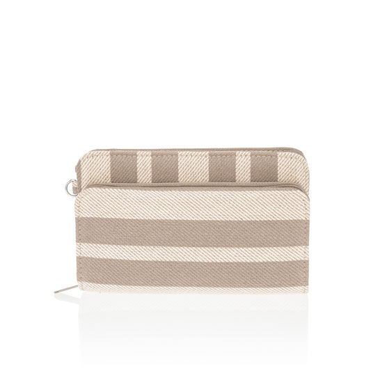 Perfect Cents Wallet - Double Stripe