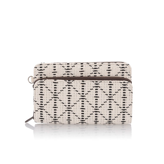 Perfect Cents Wallet - Moroccan Tile Weave