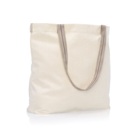 Statement Canvas Shopper - Natural