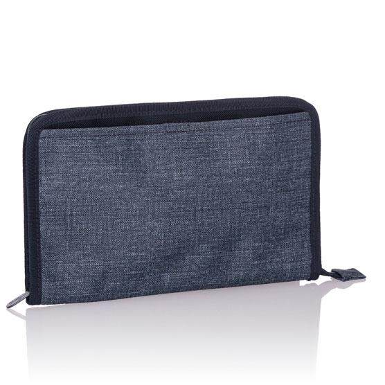 Get Creative Zipper Pouch - Navy Crosshatch