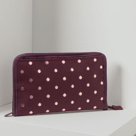 Get Creative Zipper Pouch - Twinkling Plum