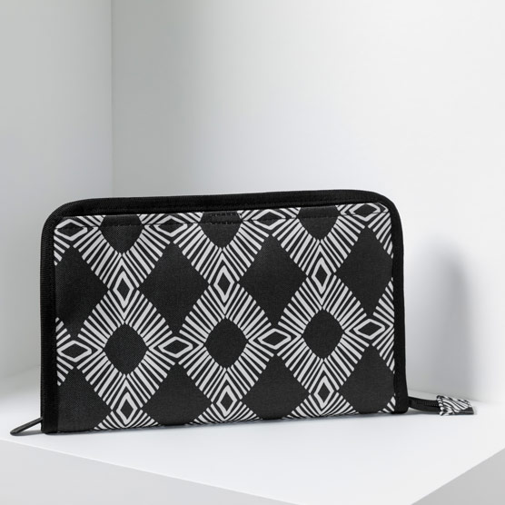 Get Creative Zipper Pouch - Diamond Geo