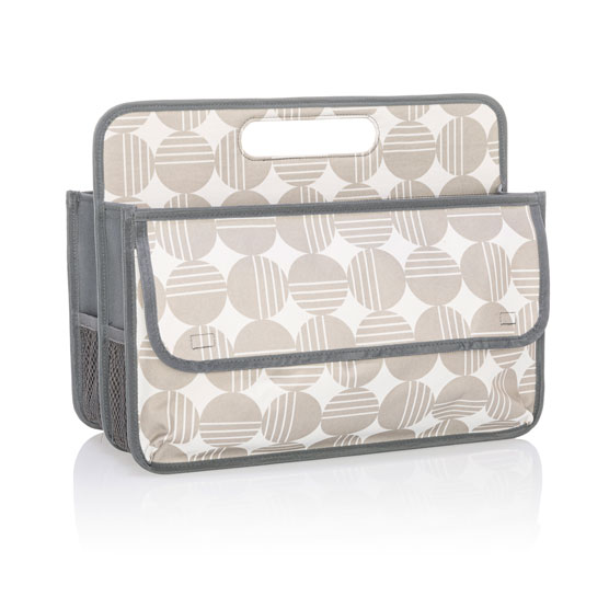 Deluxe Double Duty Caddy - Deco Dots