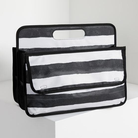 Deluxe Double Duty Caddy - Watercolor Stripe