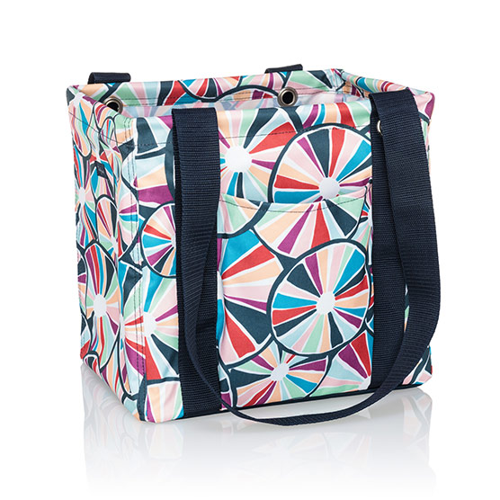 Small Utility Tote - Pinwheel Party