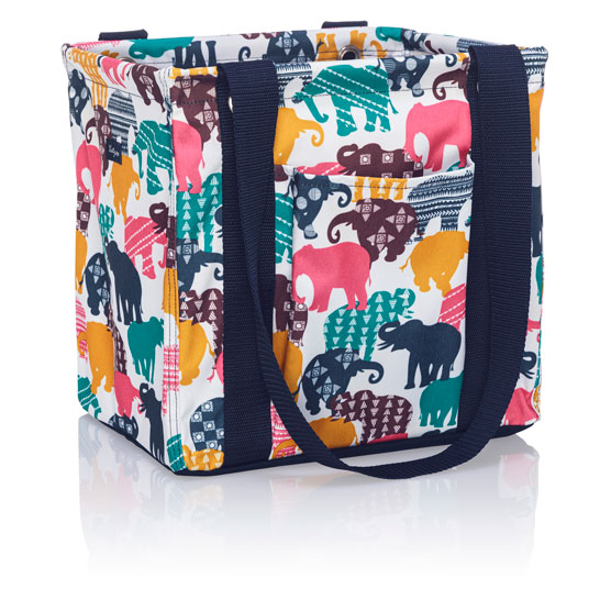 Small Utility Tote - Elephant Parade Multi
