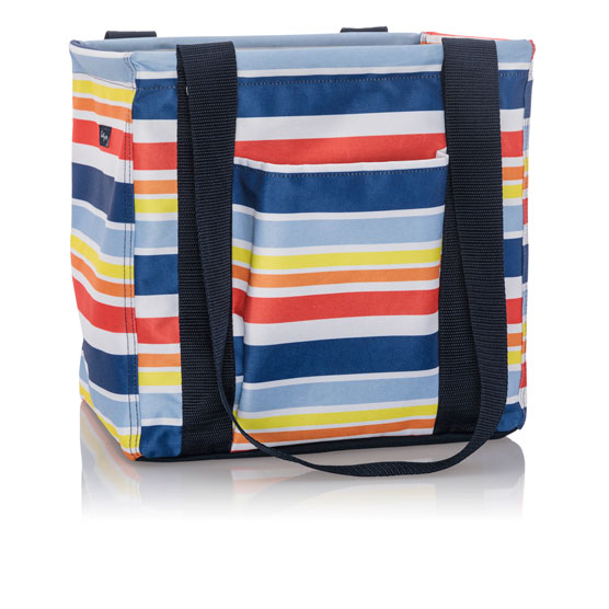 Small Utility Tote - Vista Stripe