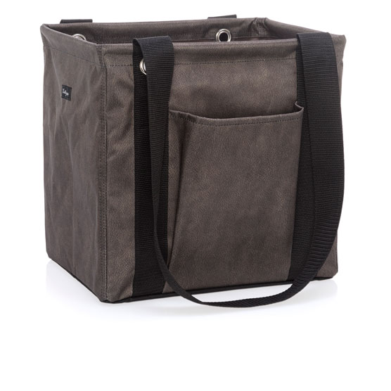 Small Utility Tote - Chestnut Distressed