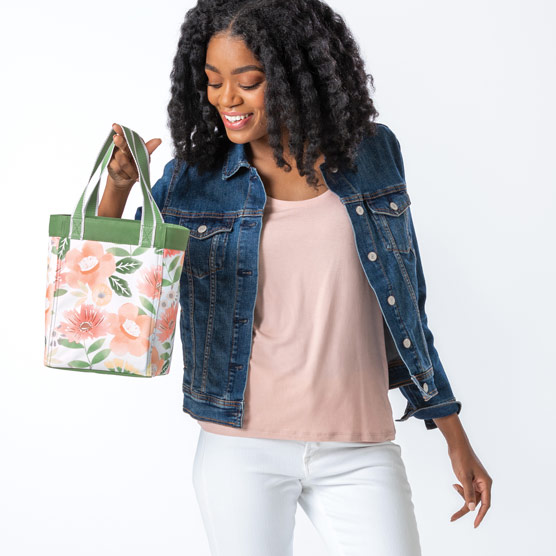 Small Essential Storage Tote - Morning Floral