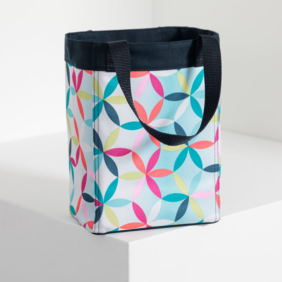 Small Essential Storage Tote - Kaleidoscope Dreams