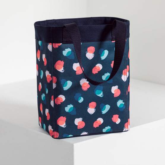 Small Essential Storage Tote - Painted Dot Trio