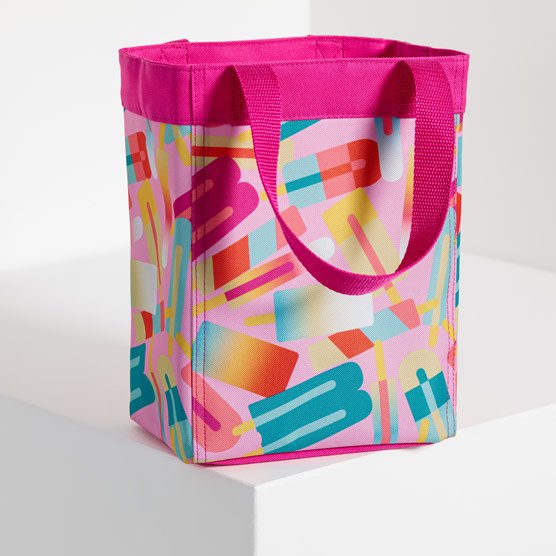 Small Essential Storage Tote - Popsicle Party