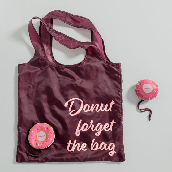 Foldaway Tote - Donut Forget The Bag