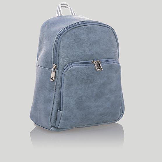 Festival Backpack - Denim Distressed Pebble