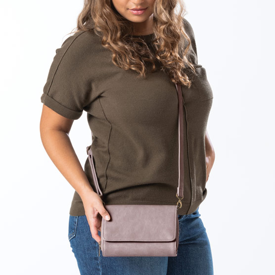 Inspired Crossbody Ltd. - Stone Distressed Pebble