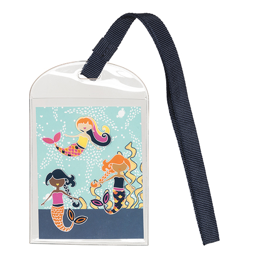 Take Along Bag Tag - Mermaid Lagoon