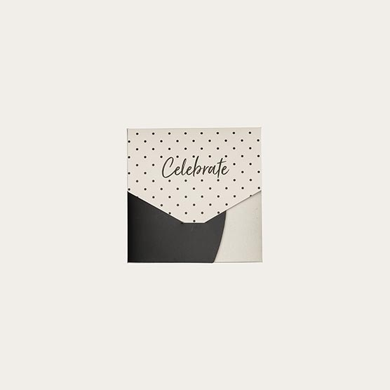 "Gifting Envelope 5""x5"" - Dashing Dot"