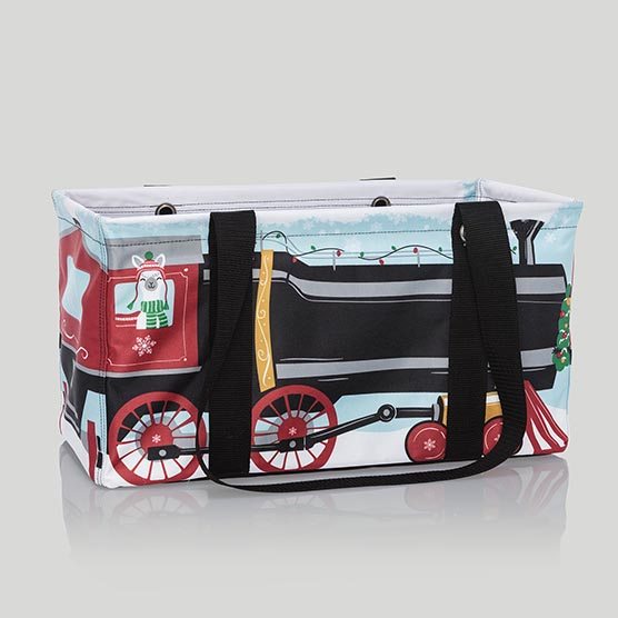 Medium Utility Tote - Holiday Express