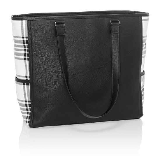 Cindy Tote Ltd. - Buffalo Check Pebble
