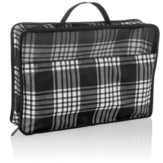 Large Pack & Zip Cube - Perfectly Plaid