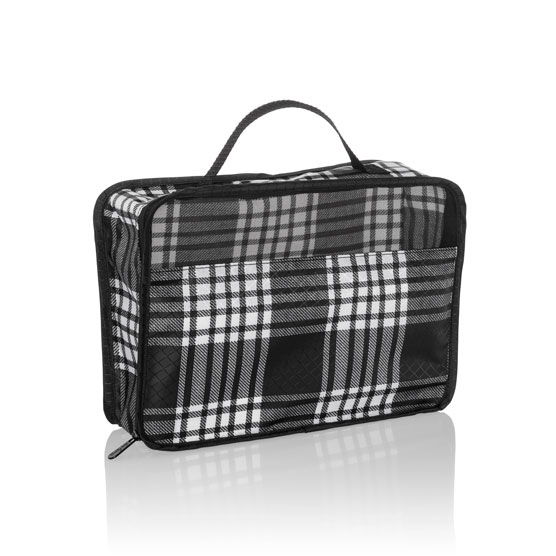 Small Pack & Zip Cube - Perfectly Plaid