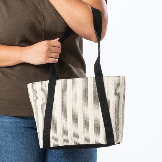 Classic Day Bag - In Stitches Weave