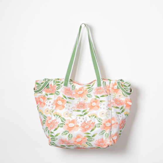 New Horizons Tote - Morning Floral