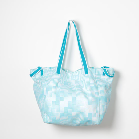 New Horizons Tote - Patchwork Stripe