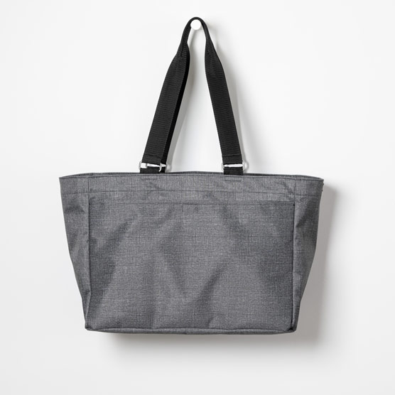 Everyday Essentials Tote - Charcoal Crosshatch