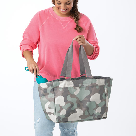 Everyday Essentials Tote - Soft Camo