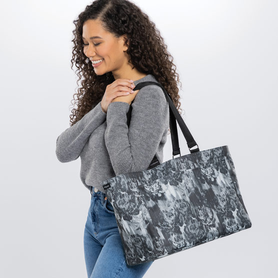 Everyday Essentials Tote - Watercolor Floral