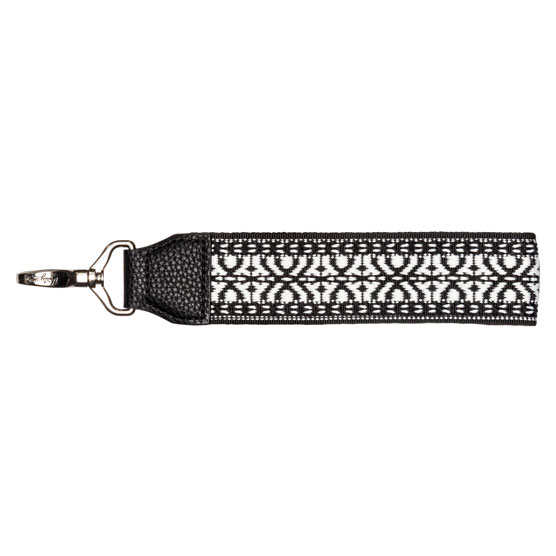 Wide Wristlet Strap - Black Multi