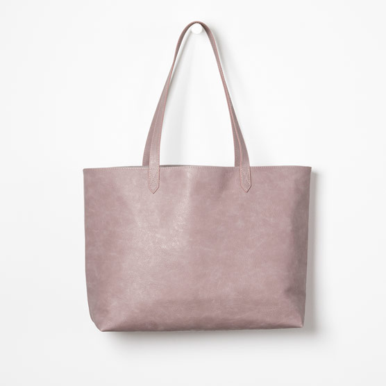 Modern Tote - Stone Distressed Pebble