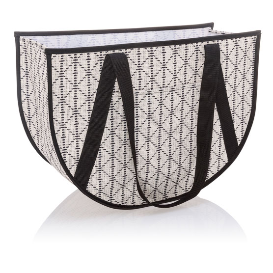 Round Utility Tote - Moroccan Tile