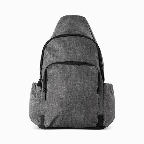 Adjustable Sling Backpack - Charcoal Crosshatch
