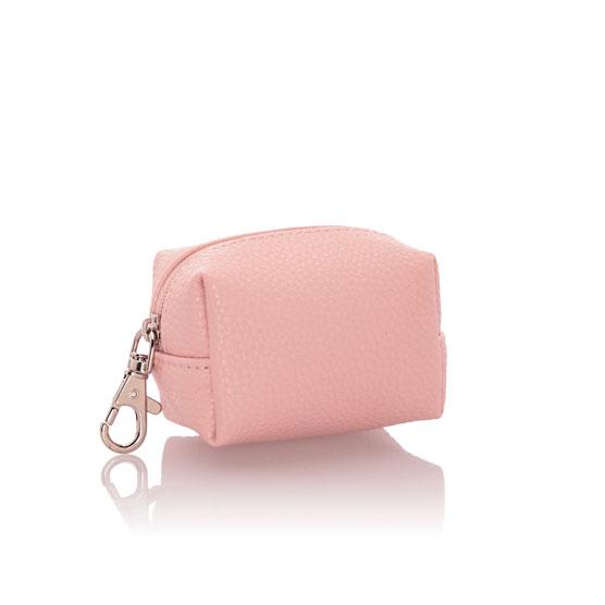 Petite Pouf - Rose Blush Pebble