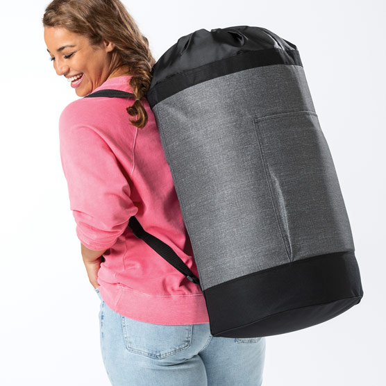 Move It All Bag - Charcoal Crosshatch