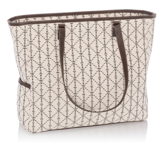 Cindy Tote - Moroccan Tile Weave