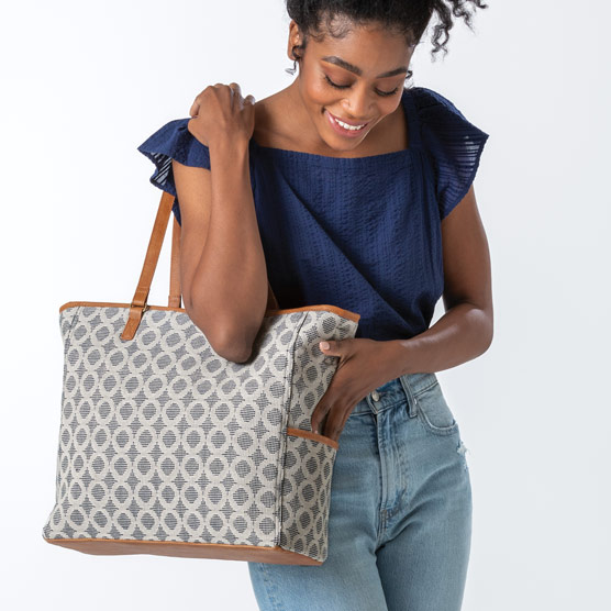 Cindy Tote - Full Circle Weave