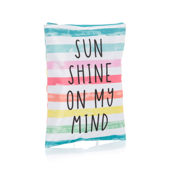 Stay Dry Pouch - Rainbow Stripe