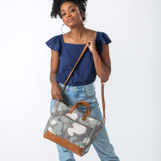 Step Up Tote - Soft Camo