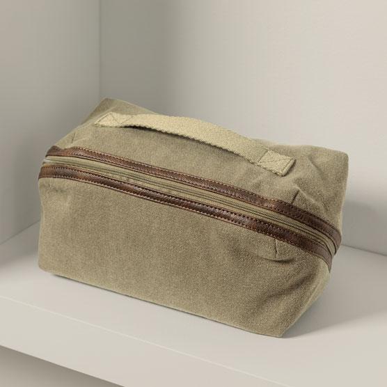 Expanding Travel Case - Vintage Olive