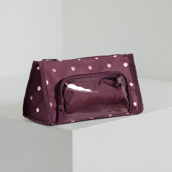 Get Creative ™ Double Pouch - Twinkling Plum
