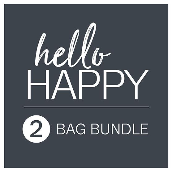 Hello Happy 2-Bag Bundle