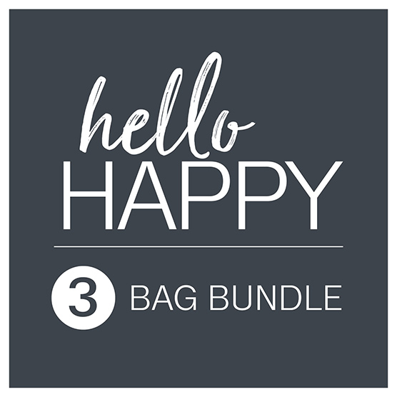 Hello Happy 3-Bag Bundle