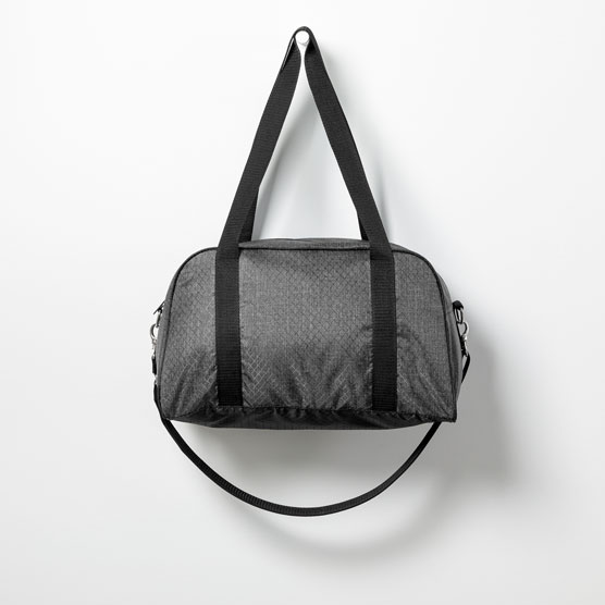 All Packed Mini Duffle - Charcoal Crosshatch