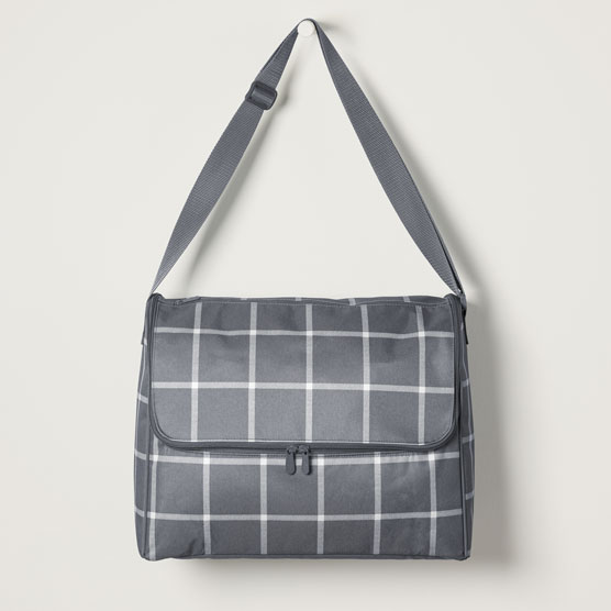 Get Creative ™ Large Carrier - Windowpane Plaid
